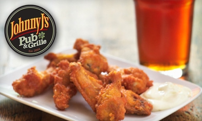 Johnny J's Pub & Grille - Multiple Locations: $10 for $20 Worth of Pub Fare and Drinks at Johnny J's Pub & Grille