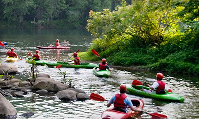 Adventure Carolina - West Columbia: $25 for a Guided Kayak Outing for One on the Saluda River from Adventure Carolina in Cayce ($50 Value)