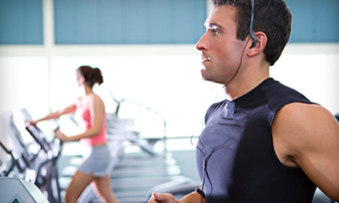 Anytime Fitness - East Lansing: Two-Month Gym Membership Packages at Anytime Fitness Two Locations Available.