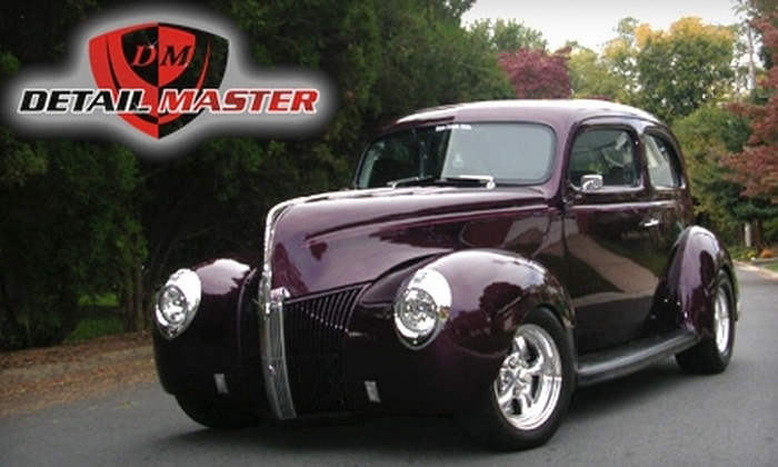 Detail Master LLC - Downtown Peoria: $120 for a Platinum Auto Detailing from Detail Master LLC ($320 Value)