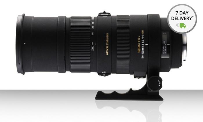 Sigma 150-500mm f/5-6.3 APO DG OS HSM Autofocus Lens: Sigma 150-500 f/5-6.3 APO DG OS HSM Autofocus Lens for Canon or Nikon. Free Returns.