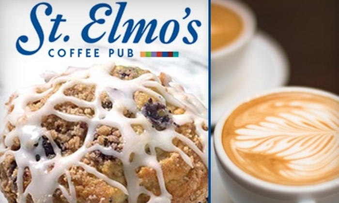 St Elmo's Coffee Pub - Del Ray: $7 for $15 Worth of Coffee and More at St. Elmo's Coffee Pub