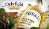Delafield Fine Foods - Delafield: $25 for $50 Worth of Italian Groceries at Delafield Fine Foods
