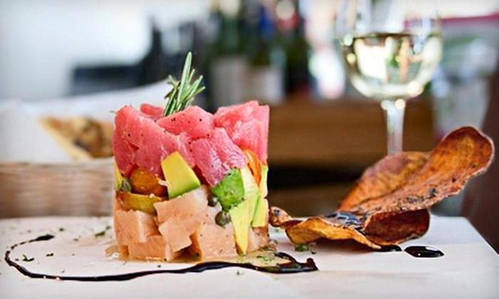 Gusto Vino & Caffé - Miami Beach: Wine and French-Italian Tapas for Two or Four at Gusto Vino & Caffé in Miami Beach (Half Off)