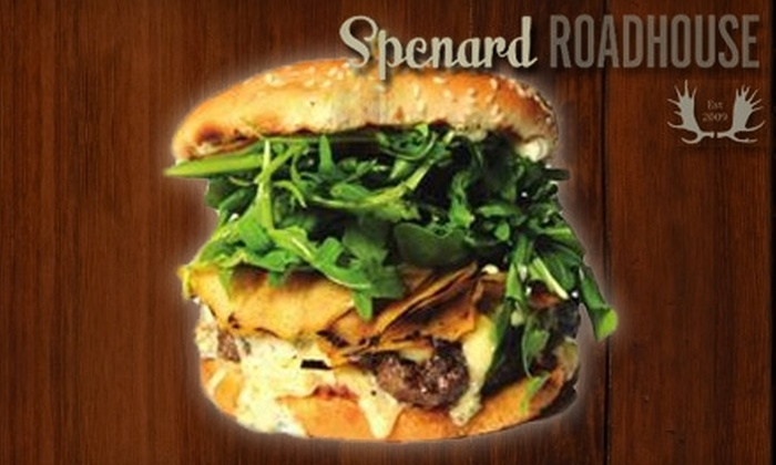 Spenard Roadhouse - Anchorage: $15 for $30 Worth of Comfort Fare and Drinks at Spenard Roadhouse