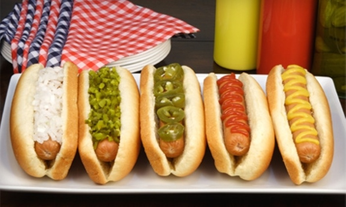 Doghouse Dawgs - Hapeville: $7 for $15 Worth of Hot Dogs, Burgers, and Desserts at Doghouse Dawgs in Hapeville