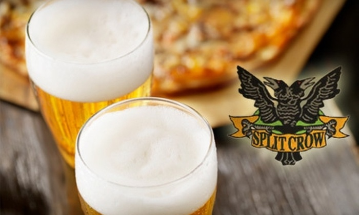 Split Crow - Downtown Halifax: $10 for $20 Worth of Pub Fare and Drinks at Split Crow Pub
