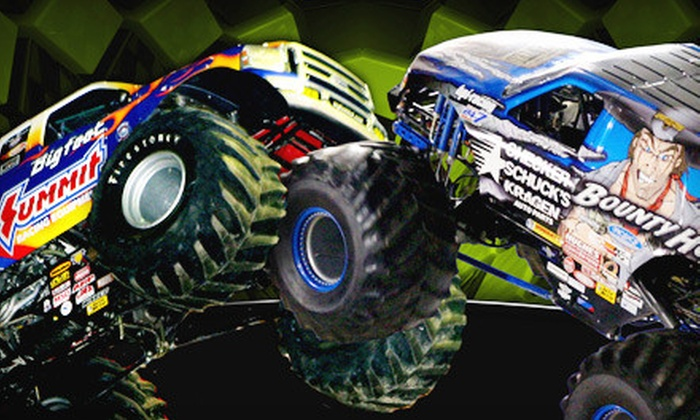 Monster X Tour - Medford: $114 for Monster-Truck Outing for Four at the Monster X Tour at Compton Arena in Medford on January 28 ($228 Value)
