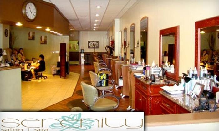 Serenity Salon and Spa - Summerville: $25 for $50 Toward Selected Spa Services at Serenity Salon and Spa in Summerville