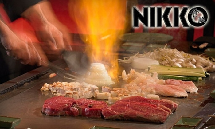 Nikko Japanese Steakhouse - Executive Hills: $20 for $40 of Teppanyaki-Style Cuisine and Sushi at Nikko Japanese Steakhouse
