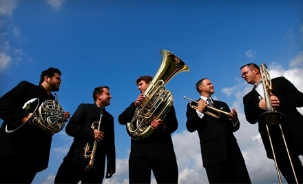 Boston Brass on Sunday, April 17 at 3PM: Zone 3 Seating - Gallagher-Bluedorn Performing Arts Center in Cedar Falls