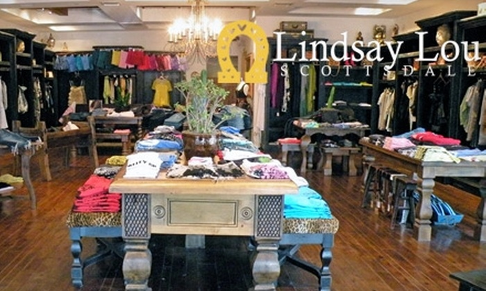 Lindsay Lou Boutique - South Scottsdale: $75 for $150 Worth of Contemporary Clothing and Accessories at Lindsay Lou Boutique in Scottsdale