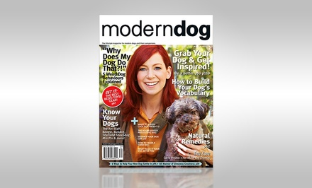 1-Year, 4-Issue Subscription to Modern Dog Magazine