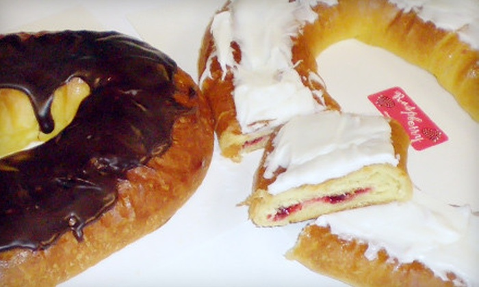 Scott's Pastry Shoppe - Meadows: Two Kringles or a Half-Sheet Cake at Scott's Pastry Shoppe in Middleton (Half Off)