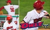 Orem Owlz Baseball - Sunset Heights: $15 for Two Tickets, Two Hot Dogs, and Two Sodas at an Orem Owlz Baseball Game ($33 Value)