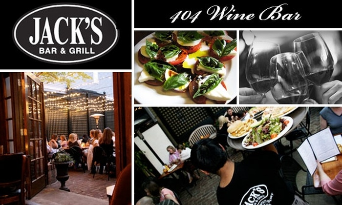 Jack's Bar & Grill and 404 Wine Bar - Lakeview: $20 for $40 Worth of Food, Wine, and Drinks at Jack's Bar & Grill/404 Wine Bar