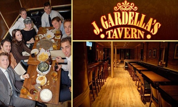J. Gardella's Tavern - Heartside-Downtown: $9 for $20 Worth of Contemporary Fare and Drinks at J. Gardella's Tavern