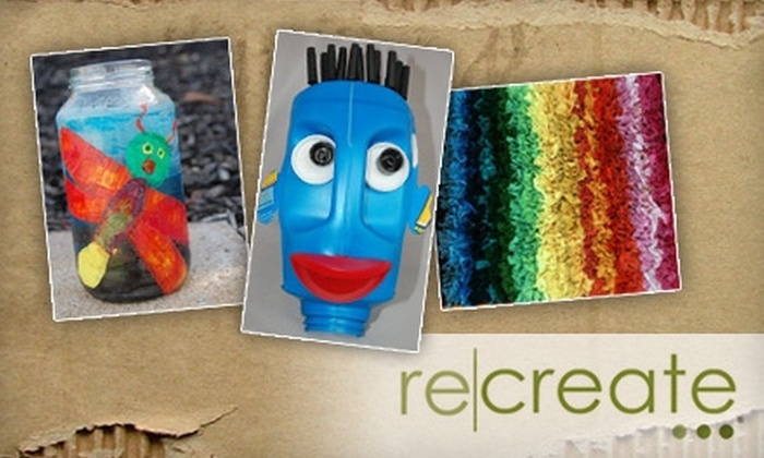 reCREATE Eco-Art Center - Cherry Glen: $12 for $25 Worth of Green Activities and Crafts at reCREATE Eco-Art Center