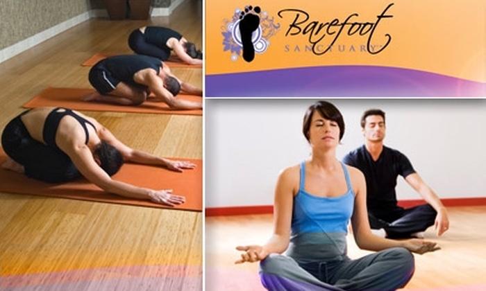 Barefoot Sanctuary - Enterprise: $20 for Five Yoga and Movement Classes at Barefoot Sanctuary ($60 Value)