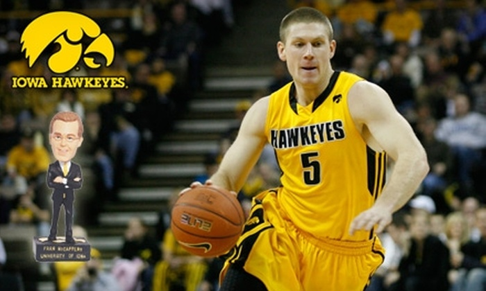 University of Iowa Athletics - Lincoln: One Ticket and Bobblehead to University of Iowa Athletics' Men's Basketball Game against Michigan State on February 2