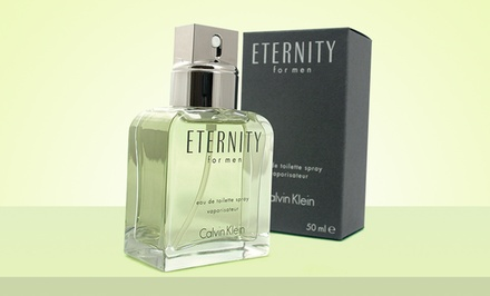 Calvin Klein Eternity Eau de Toilette for Men; 1.7 or 6.7 Fl. Oz. for $22.99 or $44.99