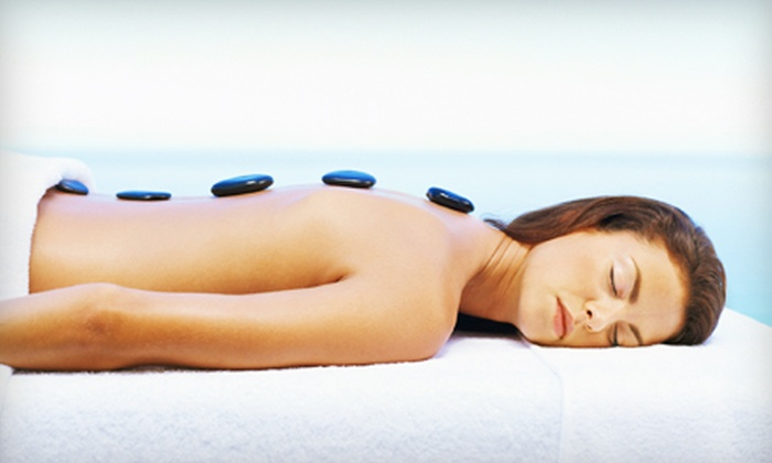 Derma Science Spa - Riverside: Hot-Stone Massage or European Facial at Derma Science Spa in Riverside