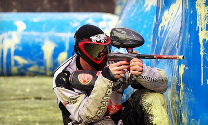 Reno Indoor Paintball - Reno: $25 for a Paintball Package with Rental Gear, Paintballs, and Unlimited Air at Reno Indoor Paintball ($50 Value)