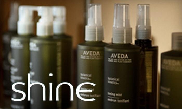 Shine Salon and Spa - Crestgate Pyramid: $30 for $60 Worth of Products and Services at Shine Salon and Spa