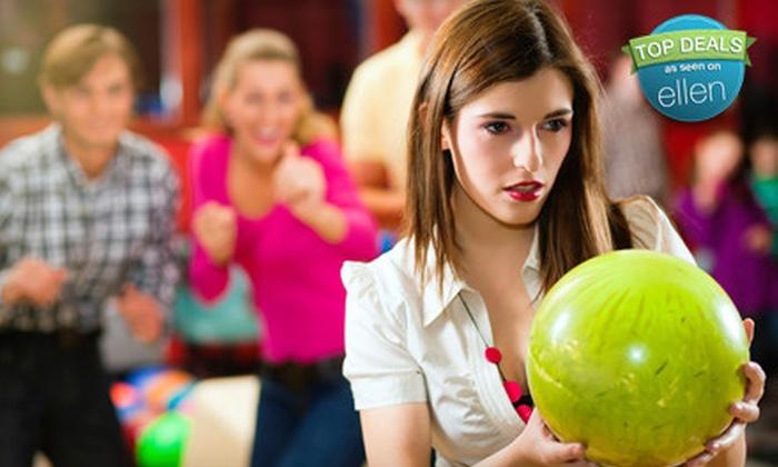 Windsor Bowling Lanes - Windsor Park: Three-Game Bowling Outing for Two or Three-Hour Bowling Outing for Up to Five at Windsor Bowling Lanes (Up to 72% Off)