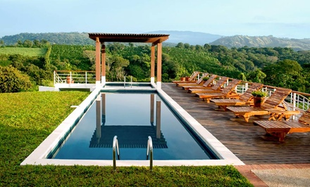 groupon daily deal - 3- or 4-Night Stay for Two with Optional Wellness Package at Asclepios Wellness & Spa in Costa Rica