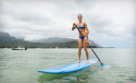 Half-Day Standup-Paddleboard Rental with Paddle and Lifejacket (a $35 value) - Vacation Sports Rentals in Coeur d'Alene