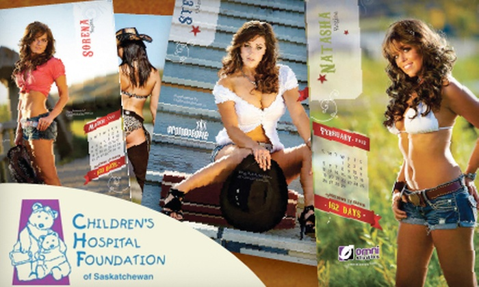 "Omni Studios - Regina: $10 for a ""Girls of Craven"" 2012 Calendar ($20 Value)"