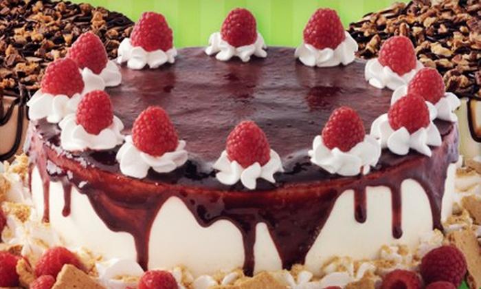Marble Slab Creamery - Cataraqui North: Large Ice Cream Cake or $5 for $10 Worth of Ice Cream at Marble Slab Creamery (Up to Half Off)