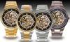 NY London Men's Skele Watch: NY London Men's Skele Watch