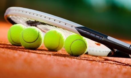 3 o 5 lezioni di tennis (sconto fino a 86%)