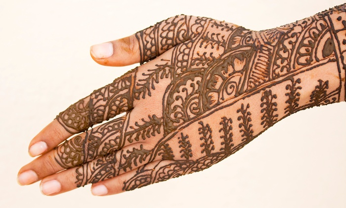 Creations By Arooj Ashraf - Carriage Crossing: $35 for $70 Worth of Services at Henna Creations
