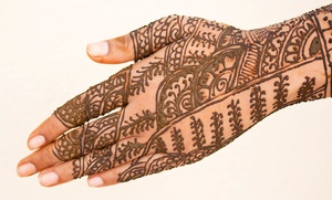 Creations By Arooj Ashraf: $35 for $70 Worth of Services at Henna Creations
