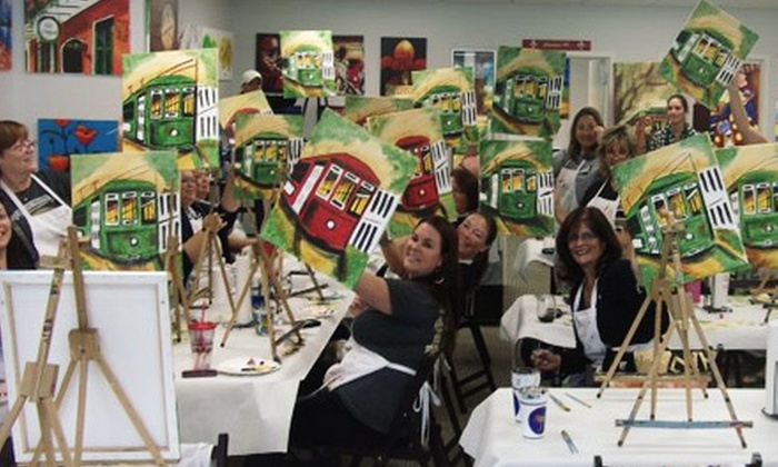 New Orleans Paint N Party - Jefferson: $20 for an Open Painting Class at New Orleans Paint N Party ($40 Value)