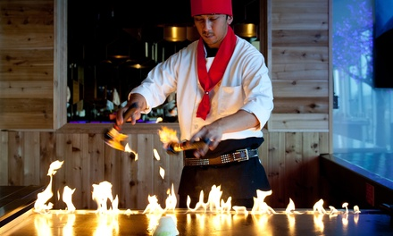 Japanese Food for Dinner or Lunch at Tokyo Steakhouse (40% Off). Three Options Available.