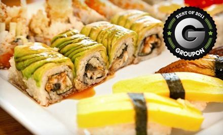 $20 Dinner Groupon to Sake Japanese Steakhouse & Sushi Bar - Sake Japanese Steakhouse & Sushi Bar in Wichita