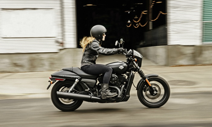 Biker Bob's Harley-Davidson - Biker Bob's Harley-Davidson: New-Rider Motorcycle Course for One or Two at Biker Bob's Harley-Davidson (Up to 62% Off)