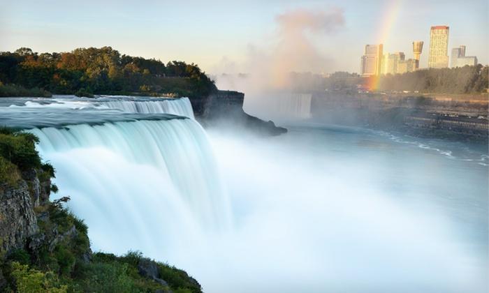 Sheraton At The Falls - Niagara Falls, NY: One-Night Stay with Lounge Access and Casino and Dining Credits at Sheraton at the Falls in Niagara Falls, NY