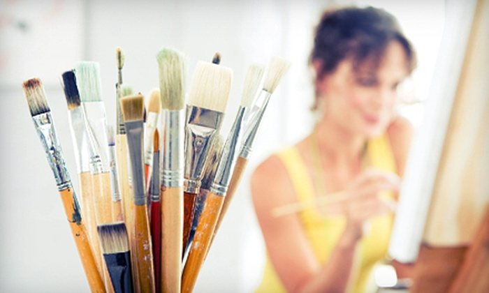 Artfully Yours Studio - Richmond: BYOB Adult Art Class for One or Two or Child-Friendly Art Class at Artfully Yours Studio in Richmond (Up to 64% Off)