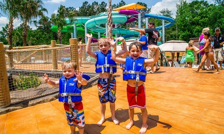 One-Day or Unlimited Water-Park Admission with Souvenir Mug at Surf Lagoon Water Park (Up to 65% Off)