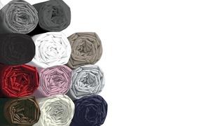 Draps housse, 100% coton