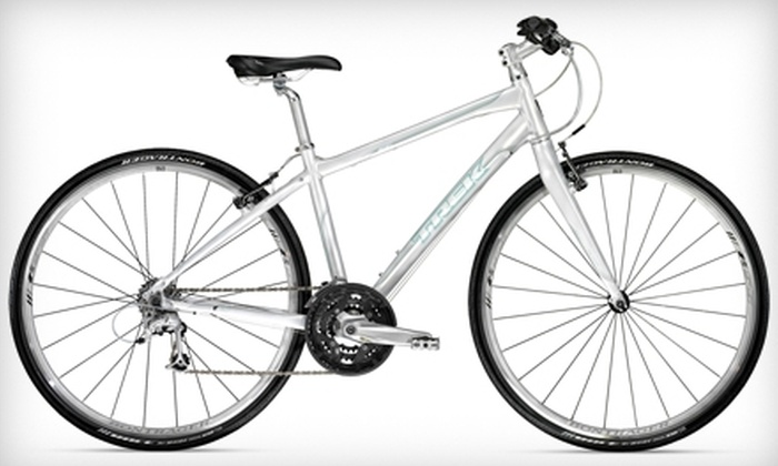 The Trek Bicycle Store  - Santa Rosa: $599 for a Trek 7.5 FX WSD Women's Bicycle and Bontrager Helmet at The Trek Bicycle Store in Santa Rosa ($1024.98 Value)