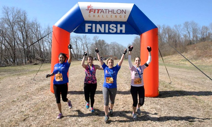 Raleigh Fitathlon Challenge - Carriage Farm: Registration for One, Two, or Four to the Raleigh Fitathlon Challenge on Saturday, May 17 (Up to 53% Off)