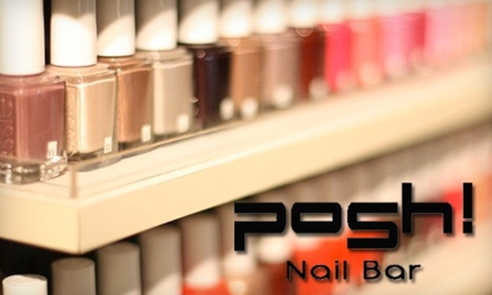 Posh! Nail Bar - Westerville: Up to 52% Off Eco-Friendly Services at Posh! Nail Bar. Choose from Signature Manicure or Pedicure.