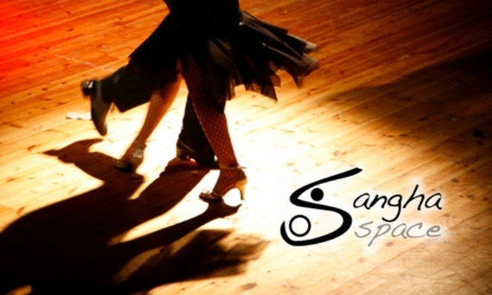 Sangha Space - Media: $35 for Five Dance or Yoga Classes of Your Choice at Sangha Space ($75 Value)