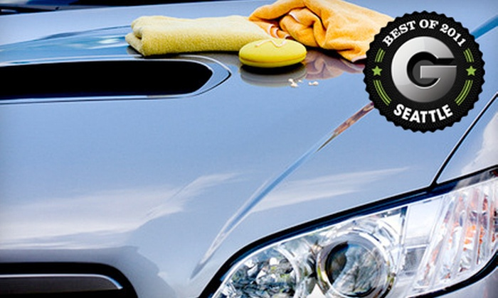 Derek's Auto Detail and Hand Car Wash - Multiple Locations: Full Interior Detail and Exterior Wax for a Car, SUV or Wagon, or Truck or Van at Derek's Auto Detail & Hand Car Wash (66% Off)